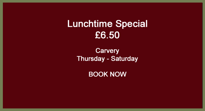 Lunchtime special - The Countryman Devon Free House and Restaurant