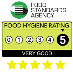Food Hygine Rating - The Countryman Devon - Quality Devon Carvery