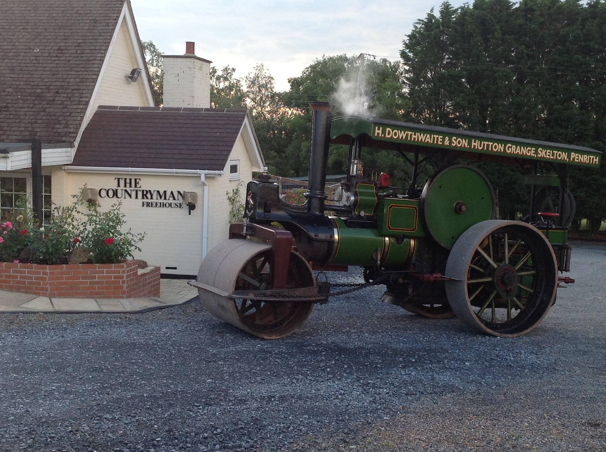 Traction ENgine - CLub Meets- Countryman Devon - Quality Devon Carvery